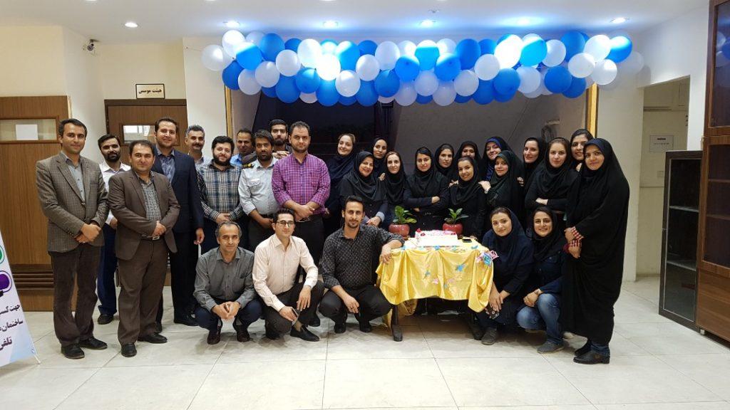 جشن خودجوش پرسنل دانشگاه زند به مناسبت عید سعید غدیر