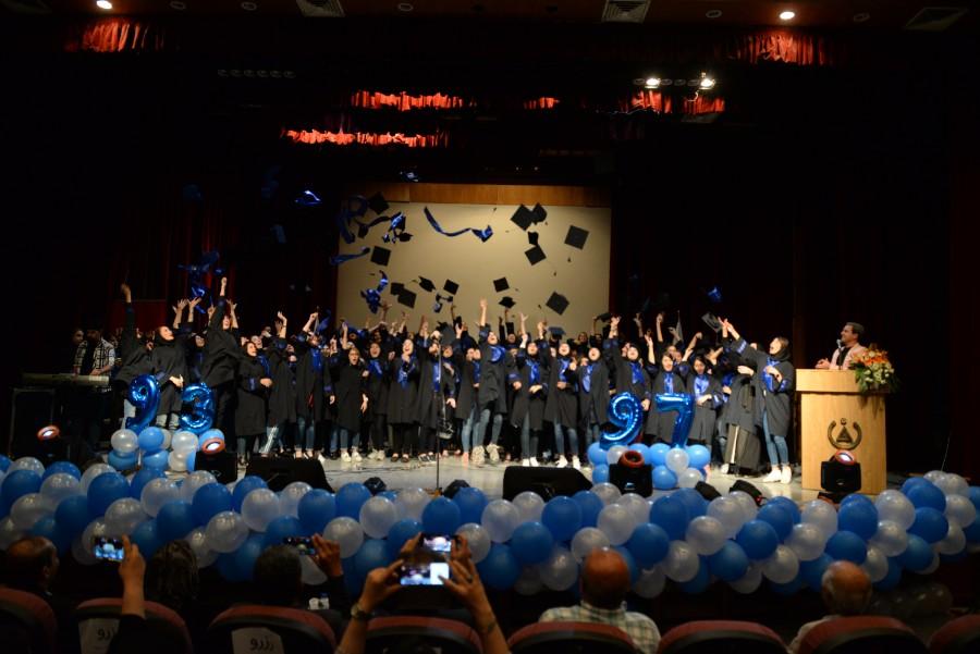 مراسم جشن فارغ التحصیلی دانش آموختگان موسسه آموزش عالی زند