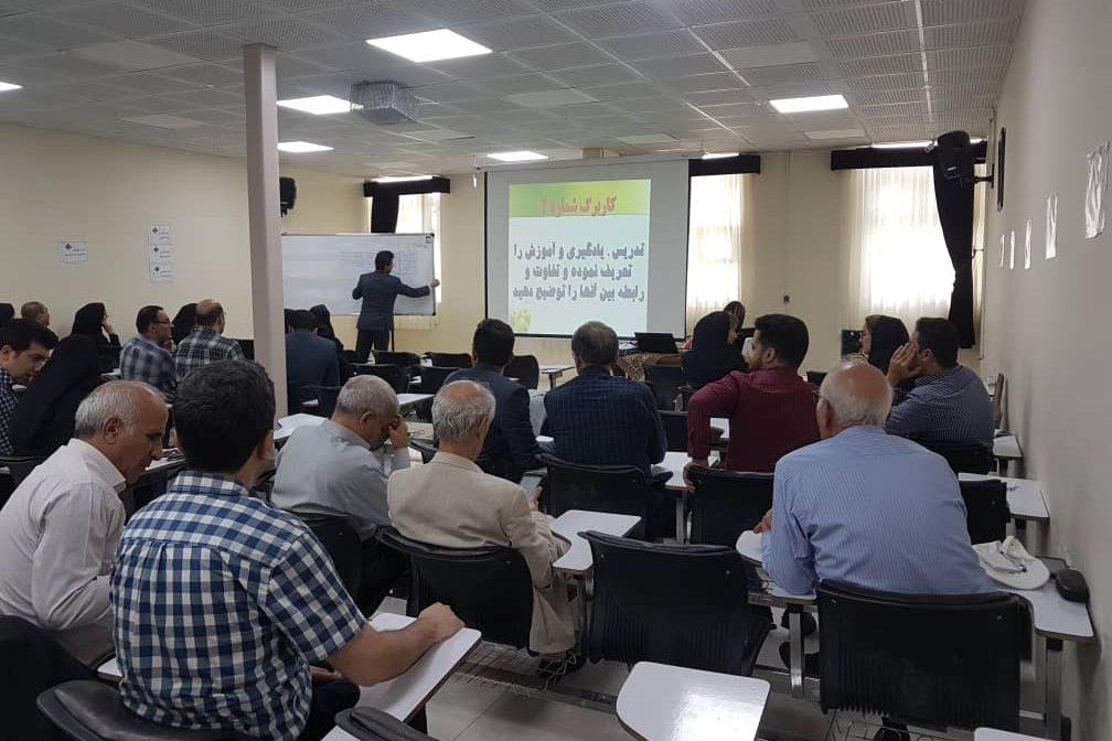 کارگاه اموزشی روشها و فنون تدریس برگزار شد