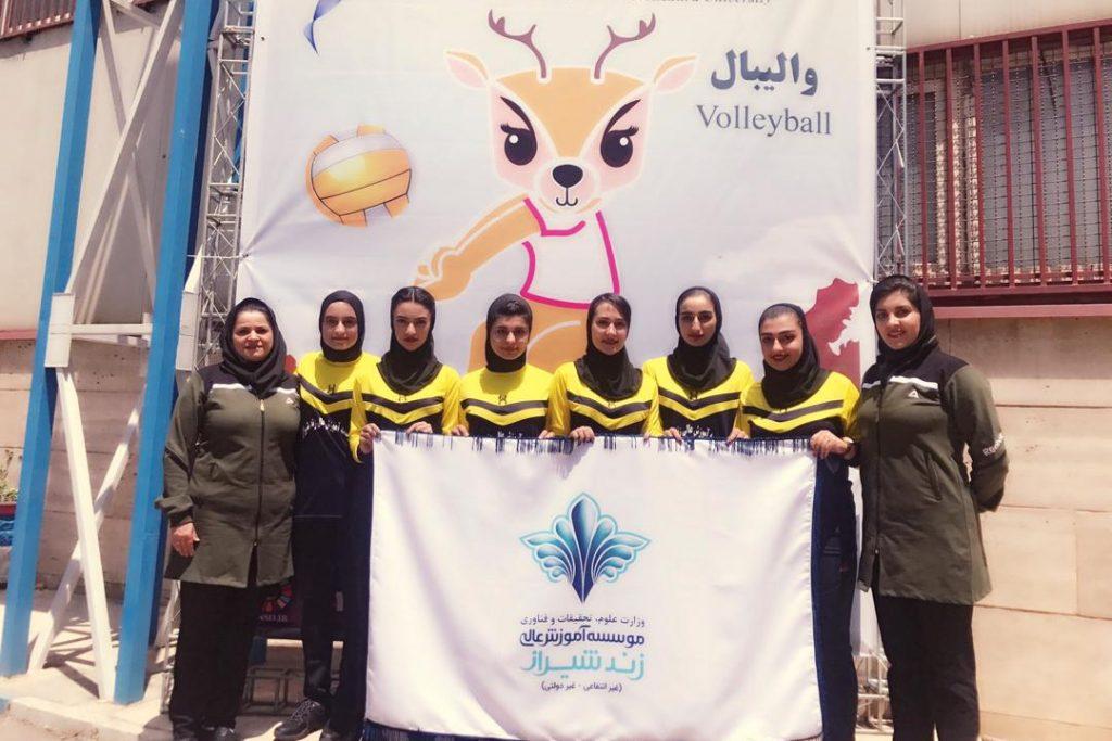 پایان رقابت های چهارمین المپیاد کشوری دانشجویان دختر سراسر کشور