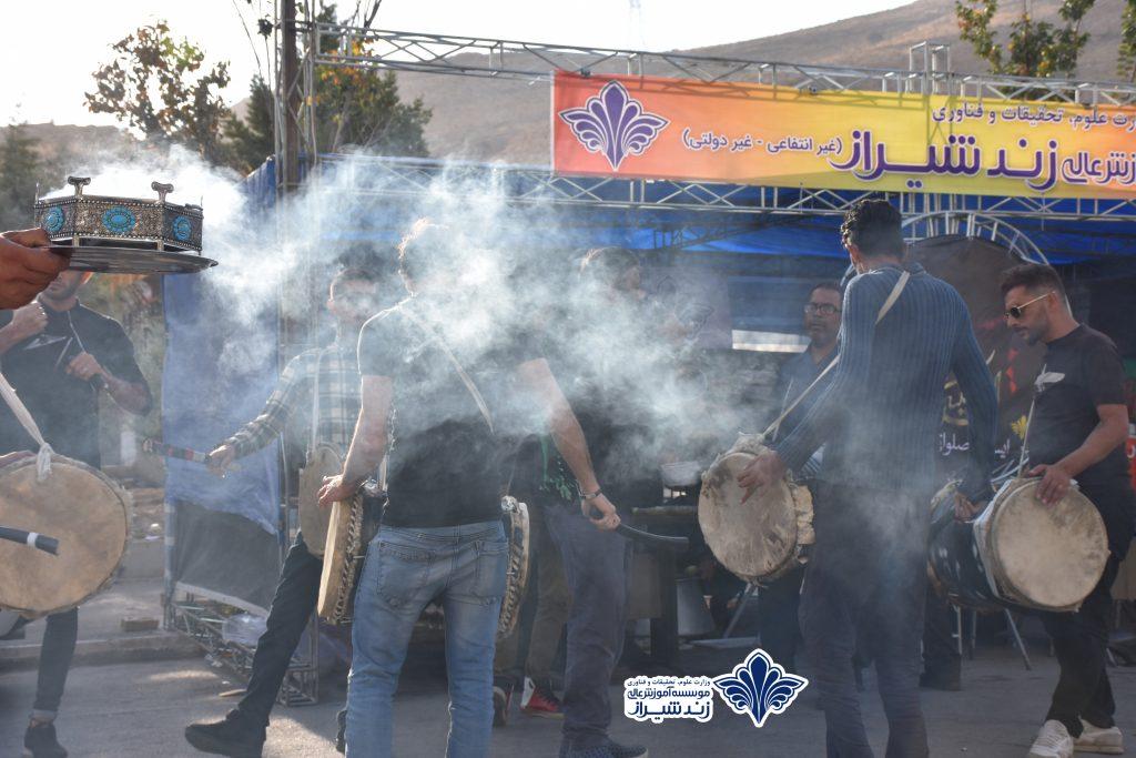 برپایی موکب اربعین حسینی